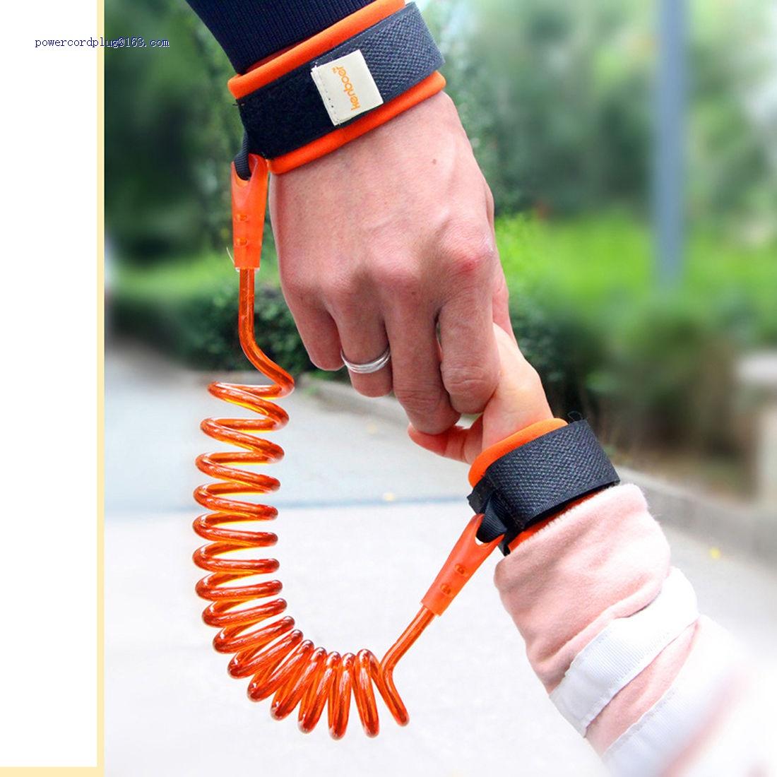 Toddler Kids Baby Safety Walking Harness Anti-lost Strap Wrist Leash Hand Belt c