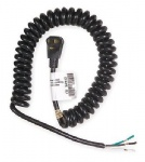 Coiled power cord 5-15P SJT