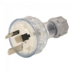 3 Pin Flat Rewireable Plug Electrical 250Volt SAA