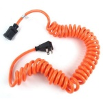 10 foot COILED EXTENSION CORD