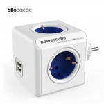 Allocacoc smart plug Powercube EU power strip electric 2 USB outlets extension