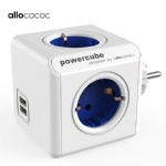smart plug Powercube EU power strip electric 2 USB outlets extension