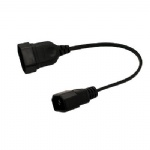 PDU UPS Power cord C14 to EU female 2 Pin C14 to European 2Pin Cord